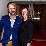 NLD/Amsterdam//20170420 - Premiere Slippers, Miryanna van Reeden en Frank E Hollywood