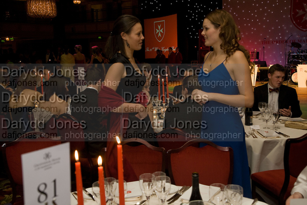 JULIA PHELPS; LUCY COUNTER, The 30th White Knights charity  Ball.  Grosvenor House Hotel. Park Lane. London. 10 January 2009 *** Local Caption *** -DO NOT ARCHIVE-© Copyright Photograph by Dafydd Jones. 248 Clapham Rd. London SW9 0PZ. Tel 0207 820 0771. www.dafjones.com.<br /> JULIA PHELPS; LUCY COUNTER, The 30th White Knights charity  Ball.  Grosvenor House Hotel. Park Lane. London. 10 January 2009