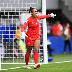 Barbara of Brazil during the Women's World Cup match between Australia and Brazil at Stade de la Mosson on June 13, 2019 in Montpellier, France. (Photo by Alexandre Dimou/Icon Sport)