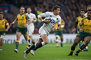 Twickenham, United Kingdom, Saturday, 24th  November 2018, RFU, Rugby, Stadium, England, Centre, Henry SLADE, during the Quilter Autumn International, England vs Australia, © Peter Spurrier