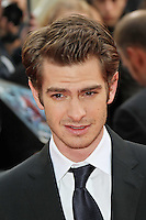LONDON - JUNE 18: Andrew Garfield attends the Gala Premiere of 'The Amazing Spider-Man', Leicester Square Gardens, London, UK. June 18, 2012. (Photo by Richard Goldschmidt)