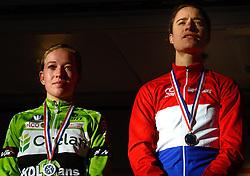 12-01-2014 WIELRENNEN: STANNAH NK CYCLOCROSS: GASSELTE<br /> Sophie de Boer wordt tweede op het NK achter Marianne Vos<br /> &copy;2014-FotoHoogendoorn.nl