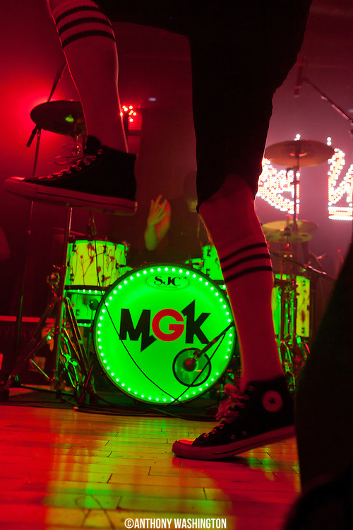 Machine Gun Kelly performs at the Baltimore Soundstage on Tuesday, June 19, 2012.