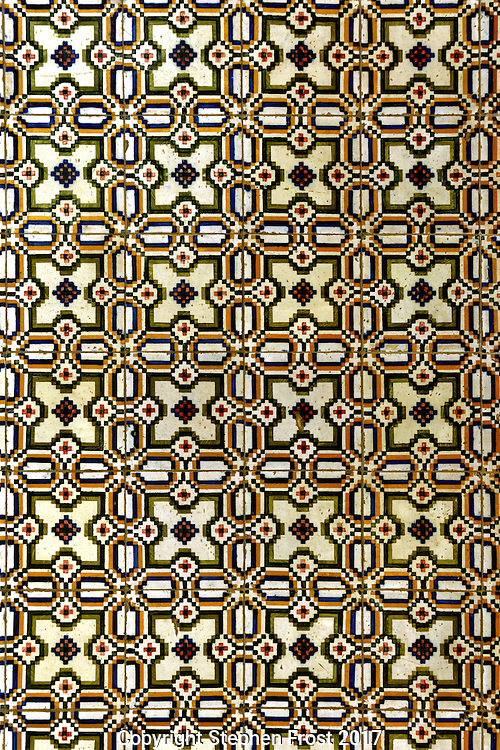 A traditional subtle brown pattern design.