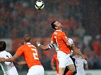 Fotball , 10. juni 2009 , EM-kvalifisering , Nederland - Norge 2-0<br /> <br /> Andre Ooijer , Nederland , André Ooijer