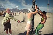 Burning Man Festival.