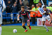 Leeds United defender Gaetano Berardi (28)  during the EFL Sky Bet Championship match between Huddersfield Town and Leeds United at the John Smiths Stadium, Huddersfield, England on 7 December 2019.