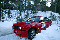 Ål 180103 - Rally NM åpning i Hallingdal - Tore Haldammen og Tommy Slåstad fra Solør og Kongsvinger ble nummer 4 i Nasjonal klasse.<br /> <br /> Foto: Andreas Fadum, Digitalsport
