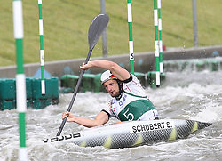 July 1, 2018 - Krakow, Poland - 2018 ICF Canoe Slalom World Cup 2 in Krakow. Day 2. On the picture: SEBASTIAN SCHUBERT (Credit Image: © Damian Klamka via ZUMA Wire)