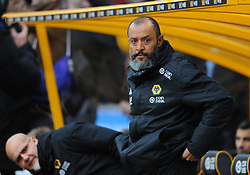 Wolverhampton Wanderers manager Nuno looks on  - Mandatory by-line: Nizaam Jones/JMP - 02/03/2019 - FOOTBALL - Molineux - Wolverhampton, England -  Wolverhampton Wanderers v Cardiff City - Premier League