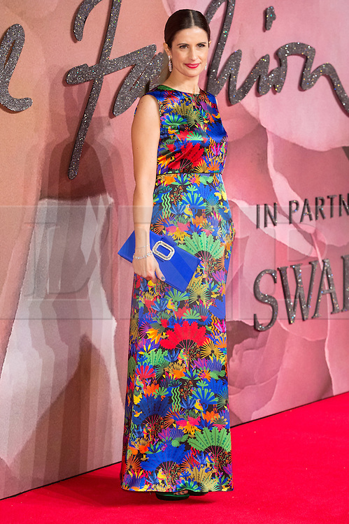 © Licensed to London News Pictures. 05/12/2016. LIVIA FIRTH arrives for The Fashion Awards 2016 celebrating the best of British and international fashion. London, UK. Photo credit: Ray Tang/LNP