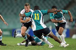 Lachie Turner. NSW Waratahs v Fiji. Investec Super Rugby Preseason match, 04 February 2011 SYdney Football Stadium, Australia. Photo: Clay Cross / photosport.co.nz