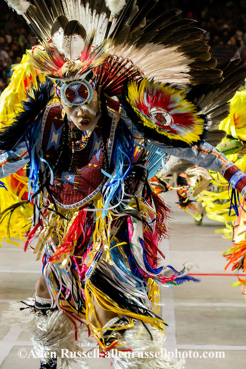 Gathering of Nations Pow Wow, Junior Boys Grass Dance, Albuquerque, New Mexico
