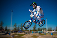 # 11 (FIELDS Connor) USA at the UCI BMX Supercross World Cup in Santiago del Estero, Argintina.