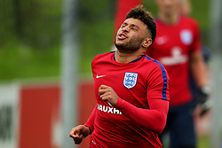 England's Alex Oxlade-Chamberlain reacts - Mandatory by-line: Matt McNulty/JMP - 29/08/2017 - FOOTBALL - St George's Park National Football Centre - Burton-upon-Trent, England - England Training and Press Conference