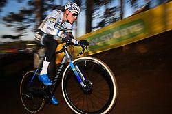December 26, 2018 - Heusden-Zolder, BELGIUM - Dutch MATHIEU VAN DER POEL in action during the men Elite race of the seventh stage (out of nine) in the World Cup cyclocross in Heusden-Zolder, Belgium.  (Credit Image: © David Stockman/Belga via ZUMA Press)