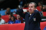 DESCRIZIONE : Lille Eurobasket 2015 Quarti di Finale Quarter Finals Lituania Italia Lithuania Italy<br /> GIOCATORE : Simone Pianigiani<br /> CATEGORIA : ritratto delusione<br /> SQUADRA : Italia Italy<br /> EVENTO : Eurobasket 2015 <br /> GARA : Lituania Italia Lithuania Italy<br /> DATA : 16/09/2015 <br /> SPORT : Pallacanestro <br /> AUTORE : Agenzia Ciamillo-Castoria/Y.Matthaios<br /> Galleria : Eurobasket 2015 <br /> Fotonotizia : Lille Eurobasket 2015 Quarti di Finale Quarter Finals Lituania Italia Lithuania Italy