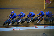 Women Team Pursuit, Italy, during the Track Cycling European Championships Glasgow 2018, at Sir Chris Hoy Velodrome, in Glasgow, Great Britain, Day 1, on August 2, 2018 - Photo Luca Bettini / BettiniPhoto / ProSportsImages / DPPI - Belgium out, Spain out, Italy out, Netherlands out -