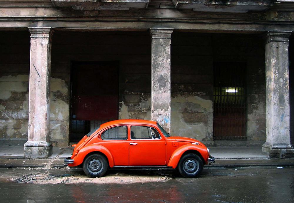 Voklswagen Beetle in Havana, Cuba