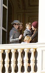 November 19, 2017 - Monte Carlo, MONACO - 19-11-2017 Monaco Beatrice Borromeo, Princess Caroline of Hanover and Charlotte Casiraghi and Raphael and Sacha Casiraghi during the Monaco National Day Celebrations in Monaco...© PPE/NieboerCredit: PPE/face to face.- No rights for the Netherlands  (Credit Image: © face to face via ZUMA Press)