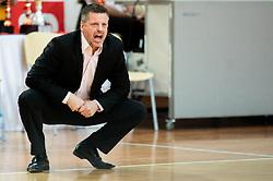 Bostjan Kuhar, head coach of Hopsi Polzela during basketball match between KK Sixt Primorska and KK Hopsi Polzela in final of Spar Cup 2018/19, on February 17, 2019 in Arena Bonifika, Koper / Capodistria, Slovenia. Photo by Vid Ponikvar / Sportida