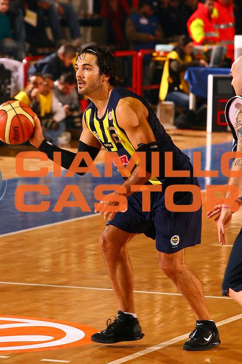 DESCRIZIONE : Napoli Eurolega 2006-07 Eldo Napoli Fenerbahce Ulker<br /> GIOCATORE : Mrsic<br /> SQUADRA : Fenerbahce Ulker<br /> EVENTO : Eurolega 2006-2007 <br /> GARA : Eldo Napoli Fenerbahce Ulker<br /> DATA : 30/11/2006 <br /> CATEGORIA : Palleggio<br /> SPORT : Pallacanestro <br /> AUTORE : Agenzia Ciamillo-Castoria/E.Castoria