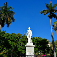 Carlos Manuel de Céspedes Monument in Havana, Cuba<br />