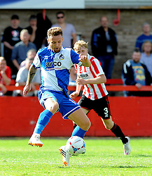 Matty Taylor of Bristol Rovers - Mandatory by-line: Neil Brookman/JMP - 25/07/2015 - SPORT - FOOTBALL - Cheltenham Town,England - Whaddon Road - Cheltenham Town v Bristol Rovers - Pre-Season Friendly