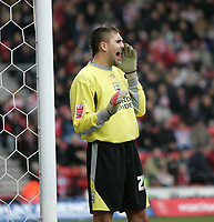 Photo: Lee Earle.<br /> Southampton v Derby County. Coca Cola Championship. 04/02/2006. Recent Southampton signing Bartosz Bialkowski.