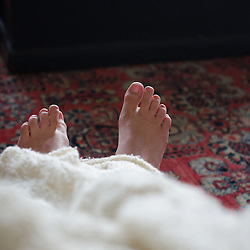 Feet Detail, Nana's House, Castine, Maine, US
