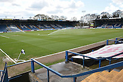 Jd Stadium before the Sky Bet League 1 match between Bury and Millwall at the JD Stadium, Bury, England on 23 April 2016. Photo by Mark Pollitt.