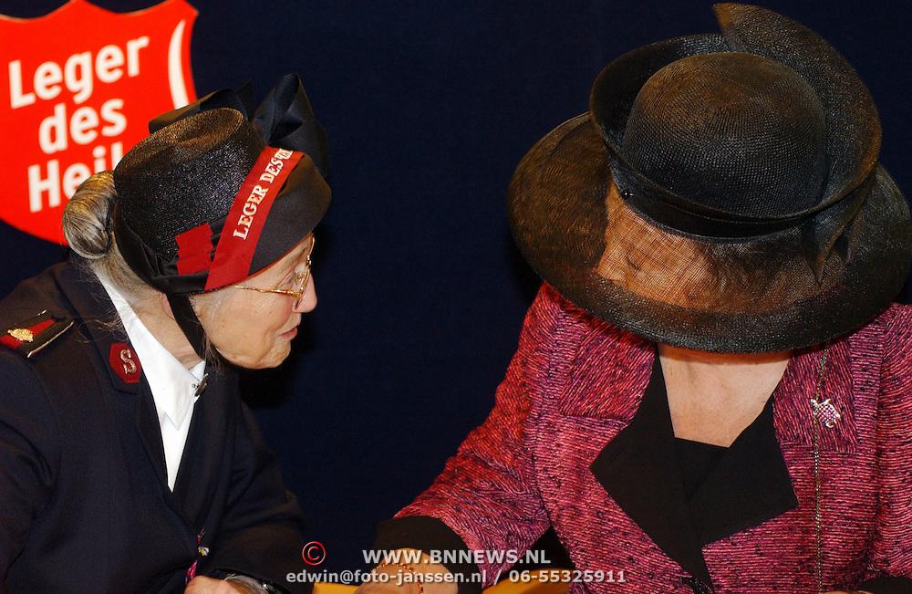 Koninging Beatrix opent verpleegtehuis de Blinkert Baarn,