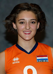 24-12-2019 NED: Photoshoot selection of Orange Youth Girls, Arnhem<br /> Orange Youth Girls 2019 - 2020 / Dagmar Mourits #9