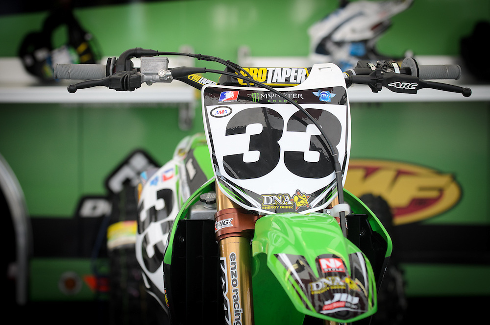 2012 AMA Supercross.Angel Stadium.Anaheim, California.January 7, 2012