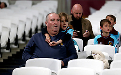 West Ham United fans in the stands