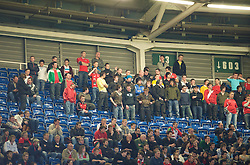 CARDIFF, WALES - Wednesday, April 1, 2009: Wales supporters during the 2010 FIFA World Cup Qualifying Group 4 match against Germany at the Millennium Stadium. (Pic by David Rawcliffe/Propaganda)