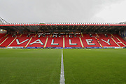 Charlton Athletic ground, The Vally during the EFL Sky Bet League 1 match between Charlton Athletic and Rochdale at The Valley, London, England on 4 May 2019.