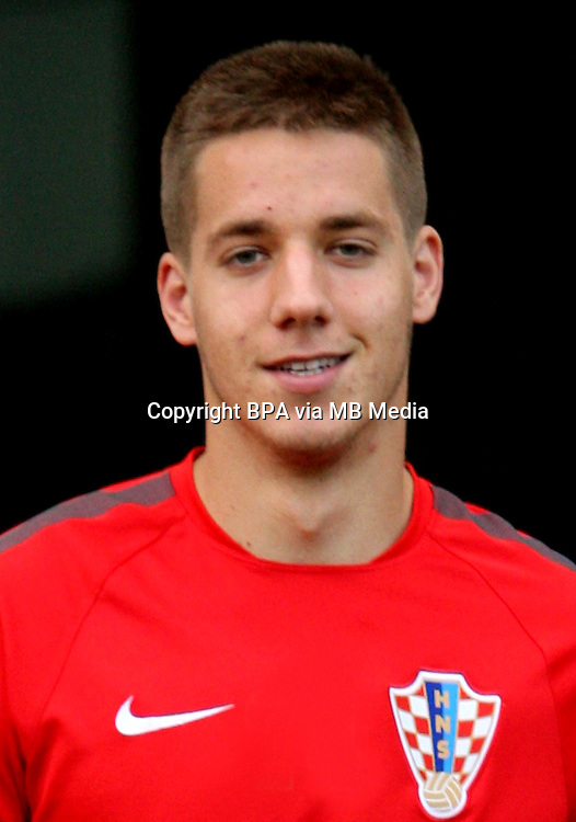 Uefa Euro FRANCE 2016 - <br /> Croatia National Team - <br /> Mario Pasalic