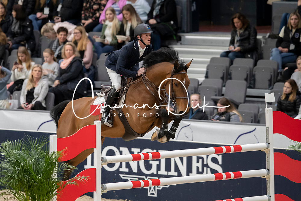 Bruynseels Niels, BEL, Kadaffi van Orti<br /> LONGINES FEI World Cup™ Finals Gothenburg 2019<br /> © Dirk Caremans<br /> 03/04/2019
