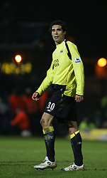 Portsmouth, England - Saturday, February 10, 2007: Portsmouth against Manchester City's Bernado Corradi during the Premiership match at Fratton Park. (Pic by Chris Ratcliffe/Propaganda)