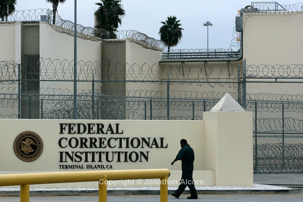 The Federal Correctional Institution, Terminal Island in San Pedro, California, November 1, 2012.  Jonathan Alcorn/JTA/Uber