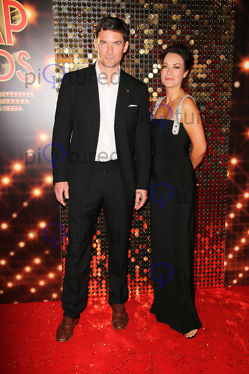 Elisabeth Dermot Walsh; Matthew Chambers, British Soap Awards, Hackney Empire, London UK, 24 May 2014, Photo by Richard Goldschmidt