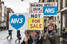 3 Feb 2018 - Thousands march through London in Nationwide protest to 'Fund the NHS'.