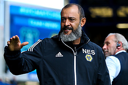 Wolverhampton Wanderers manager Nuno - Mandatory by-line: Robbie Stephenson/JMP - 01/09/2019 - FOOTBALL - Goodison Park - Liverpool, England - Everton v Wolverhampton Wanderers - Premier League