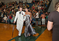 Giflord High School junior prom march Friday, May 17, 2013.  Karen Bobotas for the Laconia Daily Sun