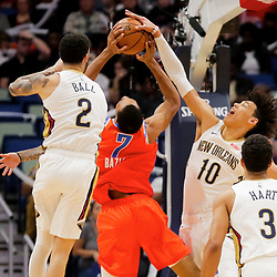 12-01-2019 Oklahoma Thunder at New Orleans Pelicans