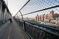 view from manhattan bridge - New York City in October 2008