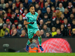 LIVERPOOL, ENGLAND - Saturday, December 29, 2018: Arsenal's Pierre-Emerick Aubameyang during the FA Premier League match between Liverpool FC and Arsenal FC at Anfield. (Pic by David Rawcliffe/Propaganda)