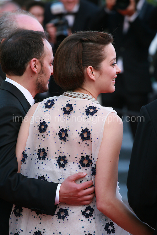 Actress Marion Cotillard at the Two Days, One Night (Deux Jours, Une Nuit) gala screening red carpet at the 67th Cannes Film Festival France. Tuesday 20th May 2014 in Cannes Film Festival, France.