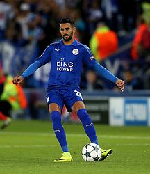 Riyad Mahrez of Leicester City  - Mandatory by-line: Matt McNulty/JMP - 27/09/2016 - FOOTBALL - King Power Stadium - Leicester, England - Leicester City v FC Porto - UEFA Champions League